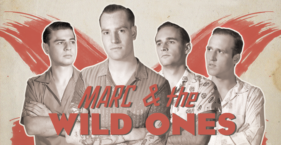 Bandfoto Marc & The Wild Ones