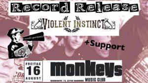 Violent Instinct EP Release Party